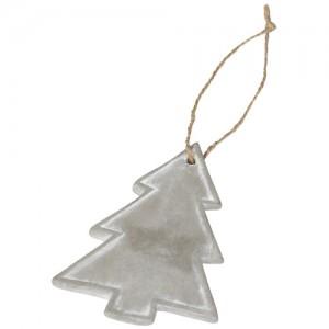 Sezoninis Kalėdų eglutės formos ornamentas-pakabutis