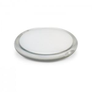 Apvalus dvipusis kompaktiškas veidrodėlis