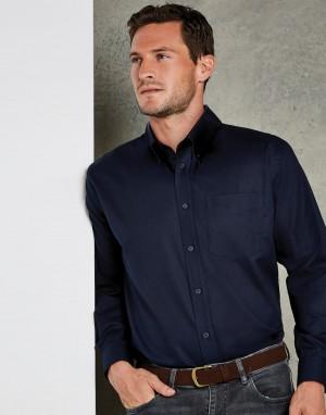 Classic Fit Workwear Oxford Shirt. Vyriški marškiniai