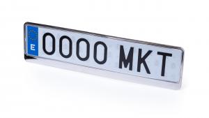Verslo dovanos Hescol (license plate frame)
