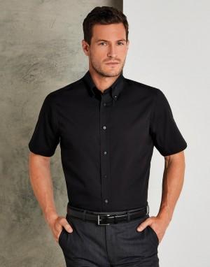 Tailored Fit City Shirt SSL. Vyriški marškiniai