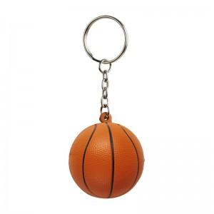 Antistresinis raktų pakabukas su kamuoliu