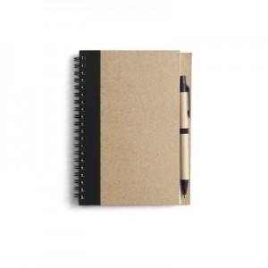 A5 formato užrašų knygutė su tušinuku