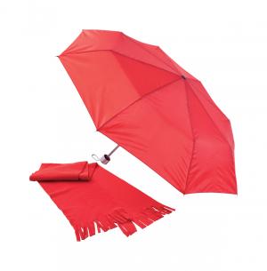 Verslo dovanos Bitem (umbrella&scarf set)