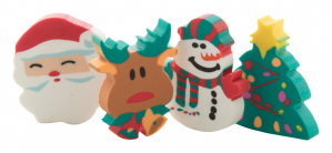 Verslo dovanos Flop (Christmas eraser set)