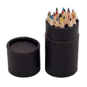 24vnt spalvotų pieštukų vamzdelyje