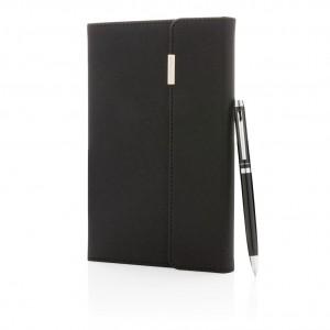 """Užrašų knygutės (A5 formato) ir rašiklio rinkinys """"Swiss Peak"""""""