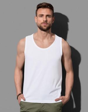 Vyriški klasikiniai viršutiniai marškinėliai be rankovių