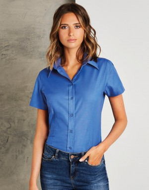Tailored Fit Workwear Oxford Shirt. Moteriški marškiniai