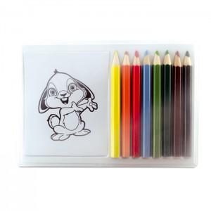 Medinių pieštukų rinkinys