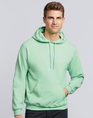 Storas vyriškas džemperis su gobtuvu