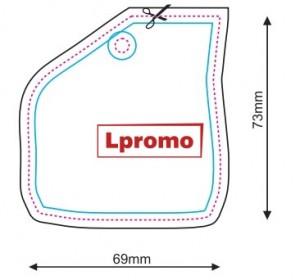 Reklaminiai kvapai automobiliams, forma lpf851