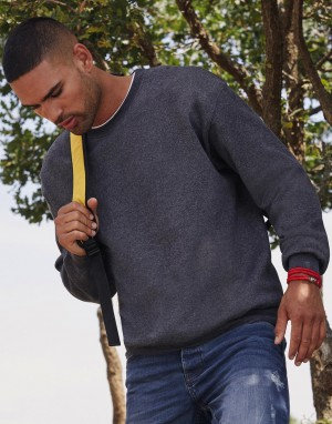 Klasikinis džemperis įsiūtomis rankovėmis