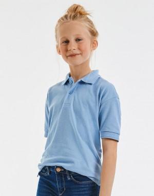 KIDS HARDWEARING POLYCOTTON POLO. Polo marškinėliai