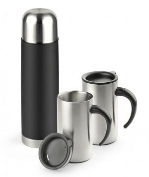 ACON firmos dovanų rinkinys (termosas 500 ml and 2 kelioniniai puodeliai 260 ml)