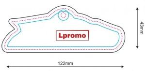 Kvapai automobiliams, forma lpf1136