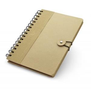 Ekologiška A5 formato užrašų knygutė