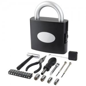 Spynos formos dėžė su 21 vnt.įrankių rinkiniu