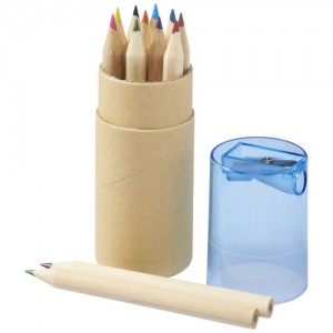 Hef pieštukų rinkinys su drožtuku