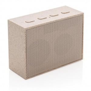 Mini garso kolonėlė iš kviečių šiaudų (3 W)