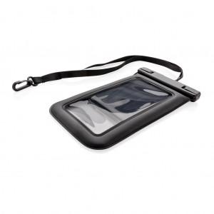 IPX8 neperšlampamas plūduriuojantis telefoninis krepšys, juodos spalvos