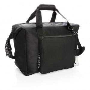 Swiss Peak XXL aušinimo krepšys ir duffle be PVC, juodos spalvos