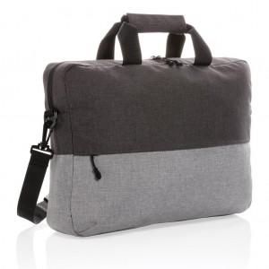 Dviejų spalvų krepšys, nešiojamiems 15,6 colių kompiuteriams (be PVC)