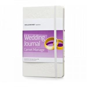 """Moleskine Wedding Journal"", specialus sąsiuvinis"