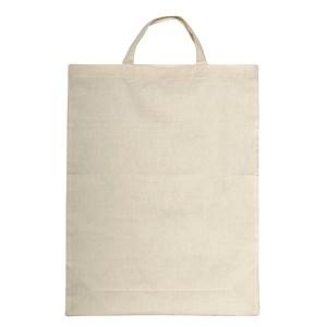 Medvilnės medžiagos pirkinių krepšys