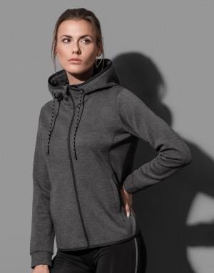 Moteriškas džemperis iš perdirbto audinio