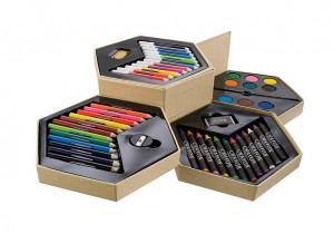 Platus meno rinkinys ARTIST  (pieštukai, spalvoti pieštukai, žymekliai, dažai)