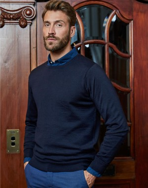 Crew Neck Sweater. Vyriškas megztinis