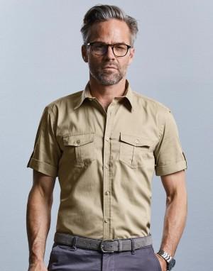 Mens Roll Sleeve Shirt. Vyriški marškiniai