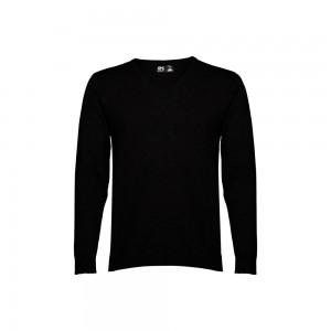 MILAN. Vyriškas megztinis su V formos kaklo iškirpte