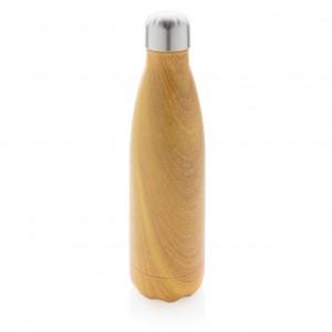 Vakuuminis izoliuotas butelis su mediena