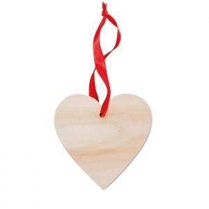 Širdies formos pakabukas