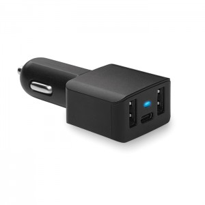 USB automobilinis įkroviklis