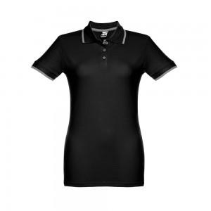 ROME WOMEN.  Moteriški Slim Fit  polo marškinėliai