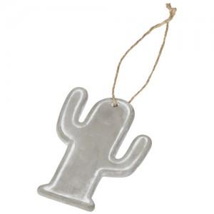 Sezoninis kaktuso formos ornamentas-pakabutis