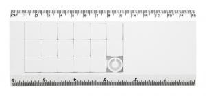 Verslo dovanos Slidy (puzzle ruler)