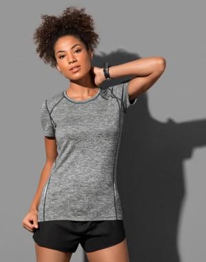 Moteriški perdirbti sportiniai T-marškinėliai