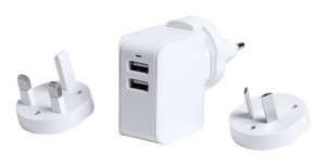 Verslo dovanos Duban (travel USB wall charger)