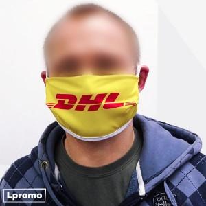 Apsauginės veido kaukės su Jūsų spalvota reklama
