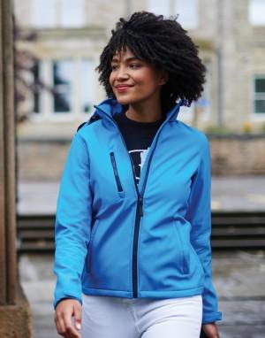 Drabužiai reklamai (Women`s Venturer 3-Layer Hooded Softshell Jacket)