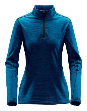 Moteriškas džemperis su ¼ užtrauktuku