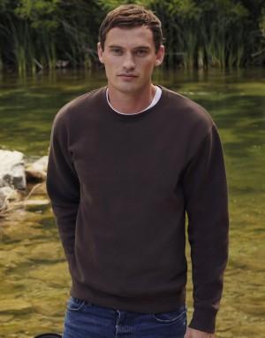 Vyriškas aukščiausios kokybės  džemperis su įsiūtomis rankovėmis