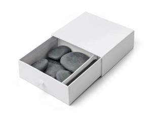 STONO firmos masažinių akmenų rinkinys