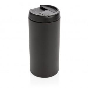 Metro puodelis, juodos spalvos