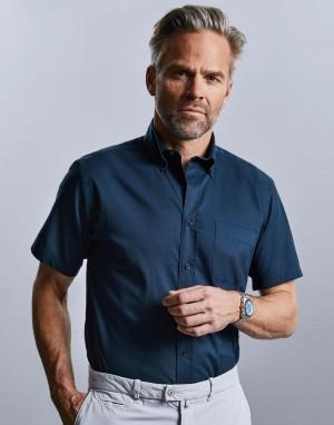 Short Sleeve Classic Twill Shirt. Vyriški marškiniai