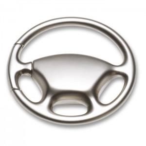 Vairo formos metalinės raktų žiedas – pakabukas